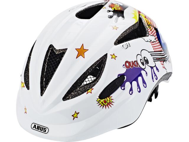 ABUS Anuky Helmet white comic